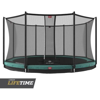 Abholpreis!!! BERG Trampolin InGround Favorit Green 380 +...